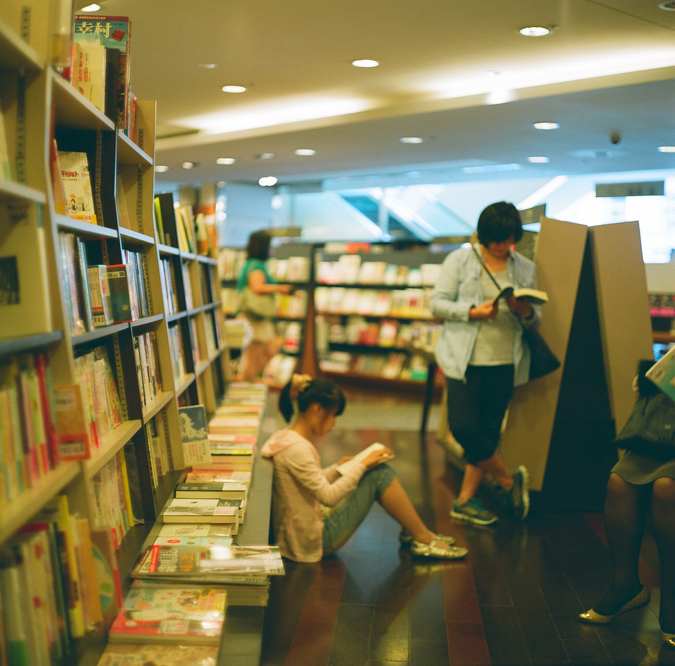 Lost in the story - Fuji Pro 160NS shot at EI 100. Color negative film in 120 format shot as 6x6.