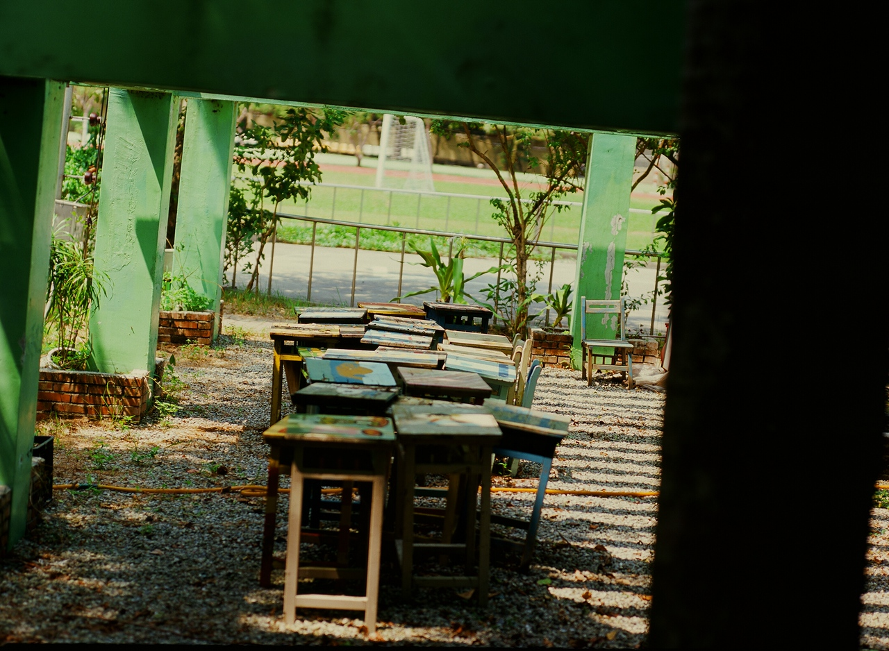 Table-au - Shot on Fuji Provia 100F at EI 100. Color slide film in 120 format shot as 6x4.5.